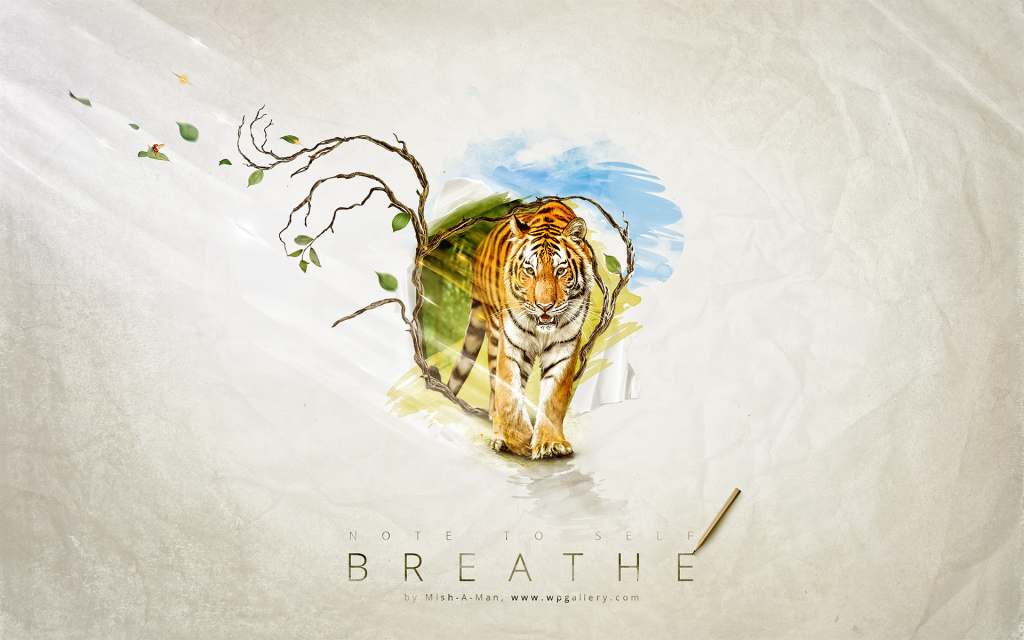 Breathe for 1024 x 640 widescreen resolution