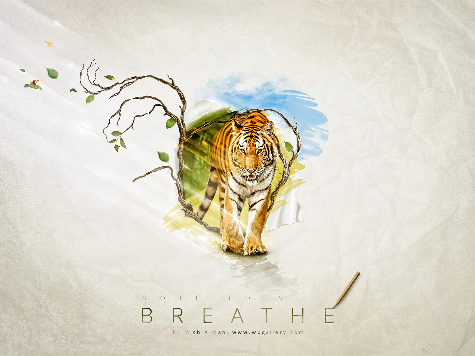 Breathe for 1600 x 1200 resolution