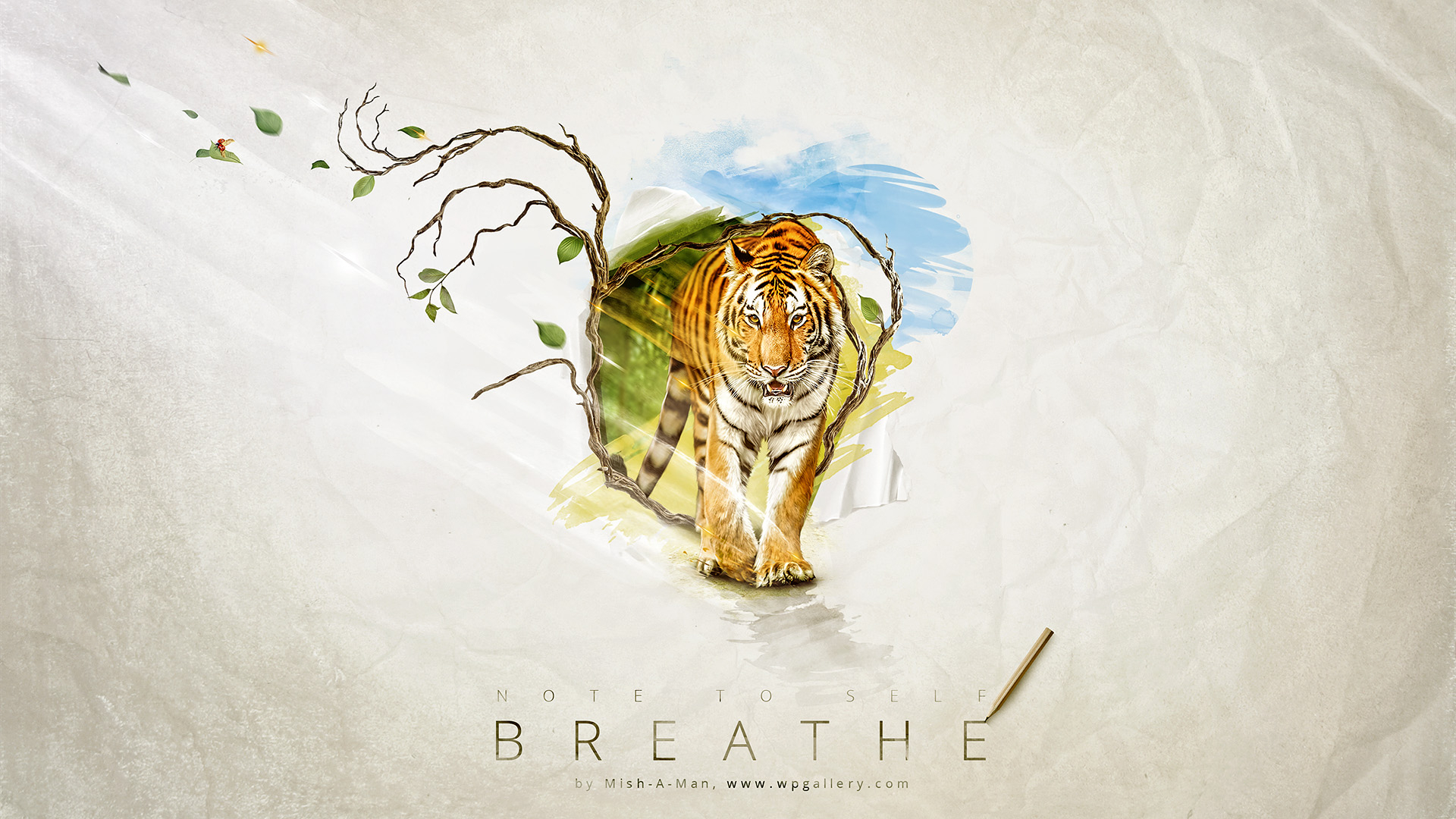 Breathe for 1920 x 1080 HDTV 1080p resolution