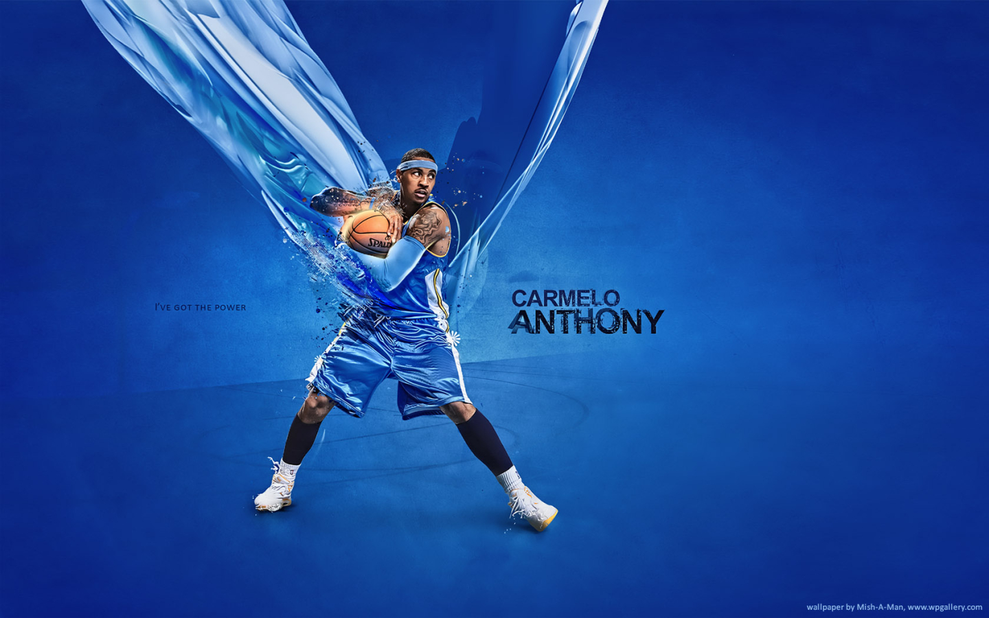 Carmelo Anthony for 1440 x 900 widescreen resolution