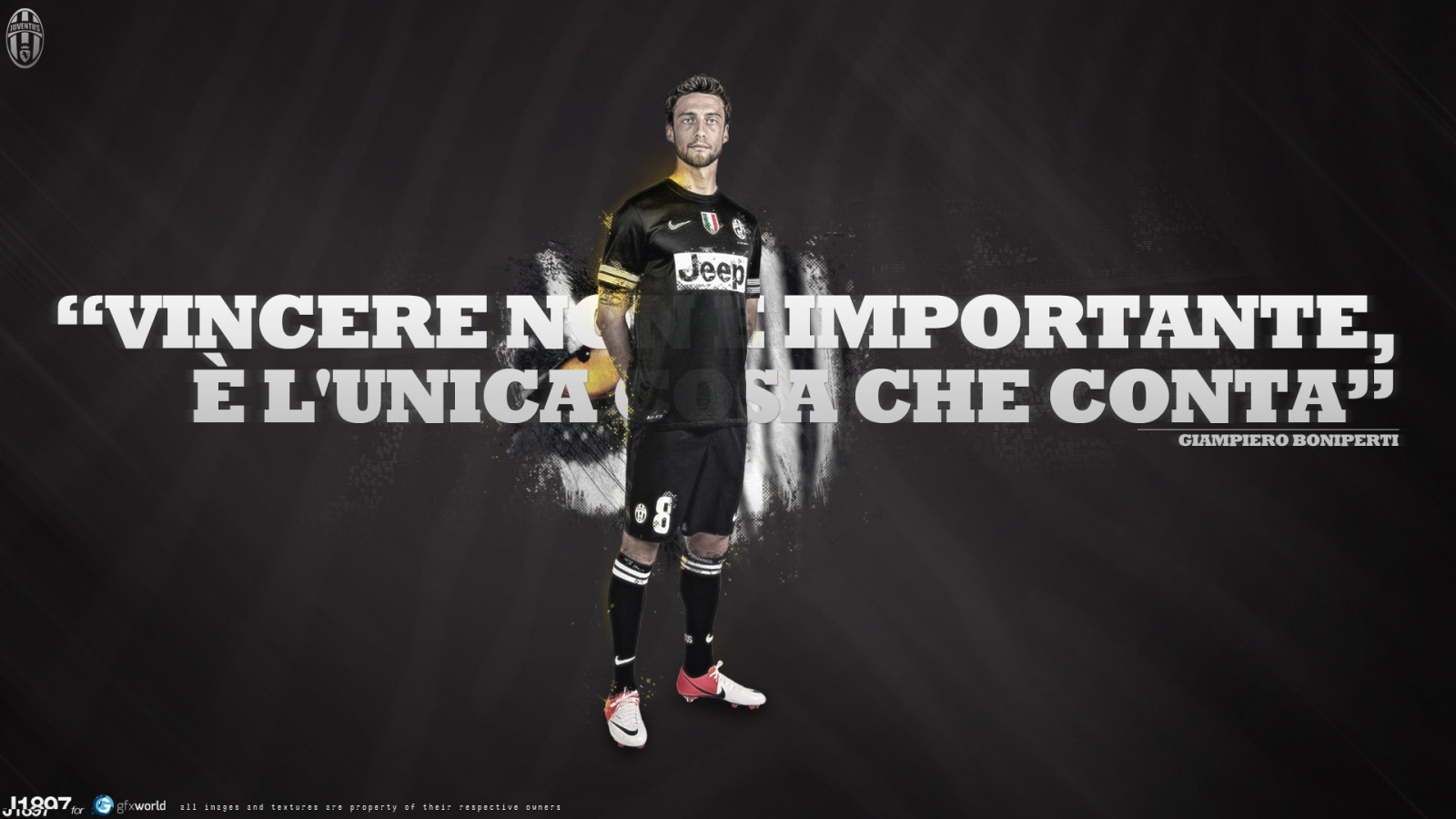 Claudio Marchisio for 1600 x 900 HDTV resolution