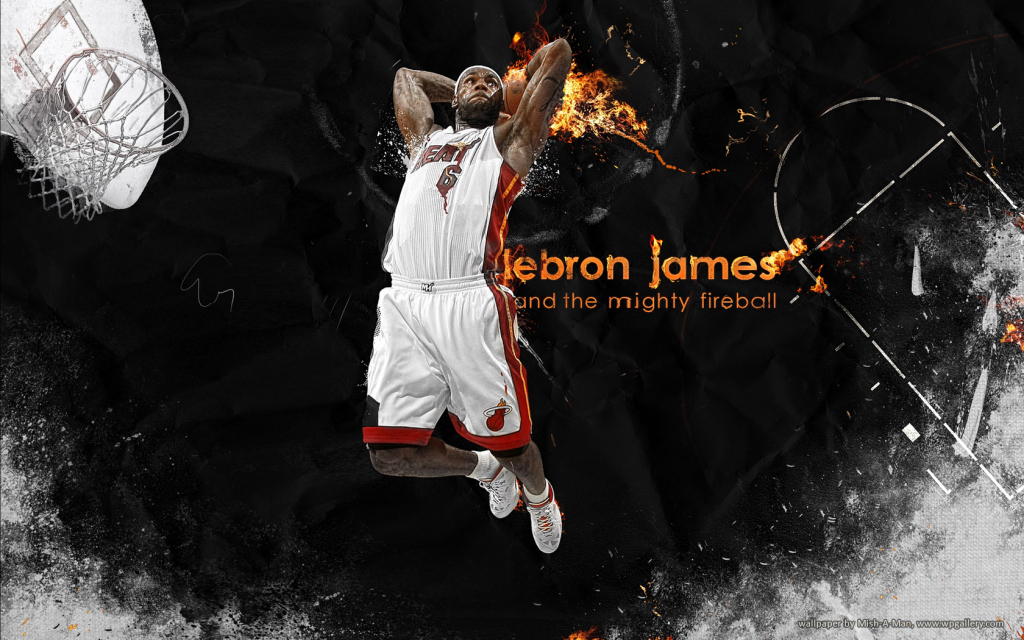 LeBron James for 1024 x 640 widescreen resolution