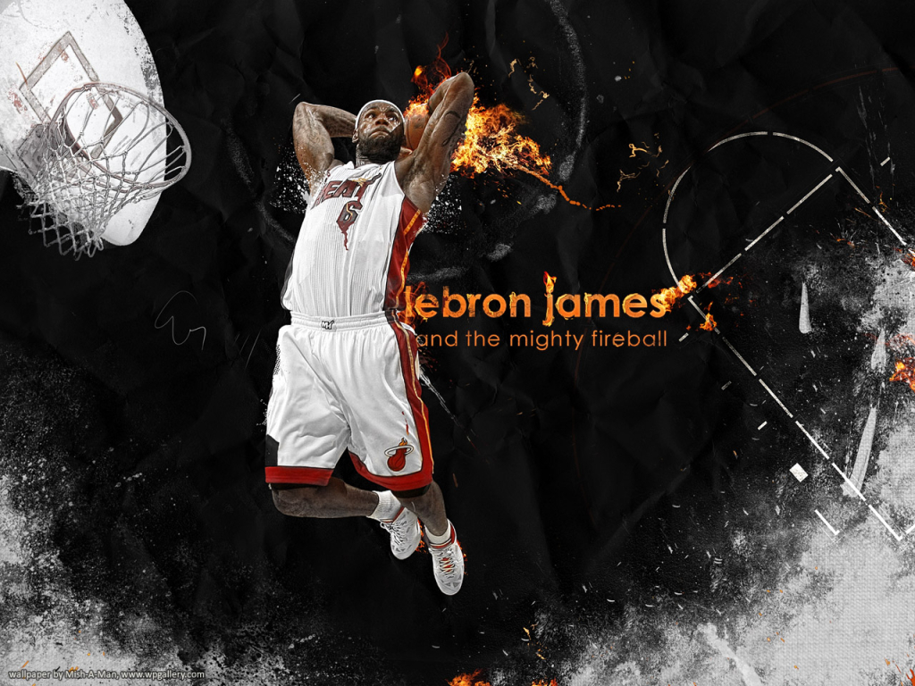 LeBron James for 1024 x 768 resolution
