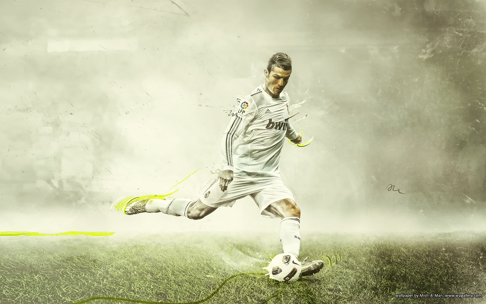 Ronaldo by Mish-A-Man
